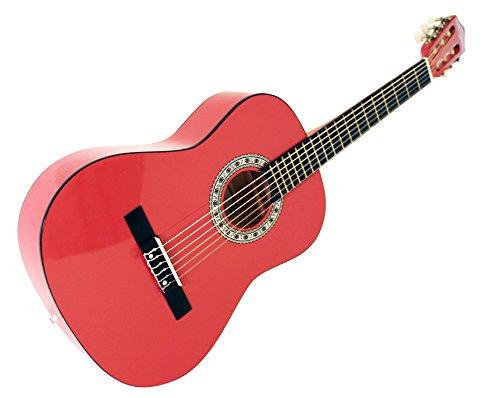 Martin-Smith-Guitarra-clsica-34-color-rojo-0-2